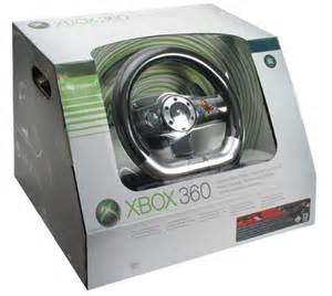 Steering Wheel Compatible With Xbox 360 And Pc Microsoft Xbox 360 Wireless Steering Wheel Review