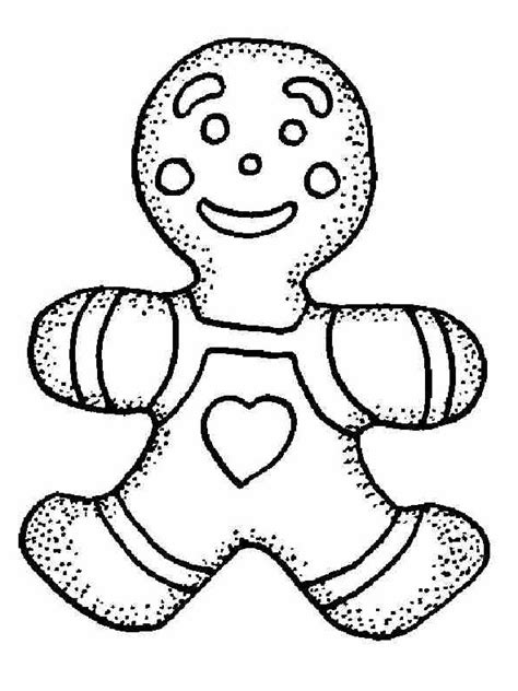 free gingerbread coloring pages to kids kids coloring pages
