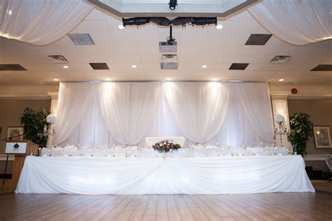 Decor To Remember by Wedding Tables Backdrops Rental Photos