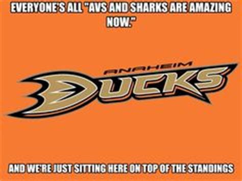 Anaheim Ducks Memes - anaheim ducks hockey stuff on pinterest hockey