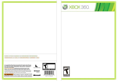 xbox one cover template xbox one template www pixshark images