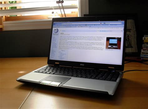 file msi laptop computer jpg wikimedia commons