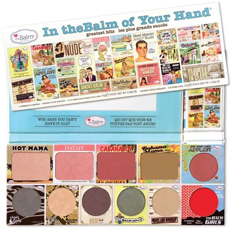 Murah The Balm In Thebalm Of Your Greatest Hits Volume 2 fave in the balm of your greatest hits