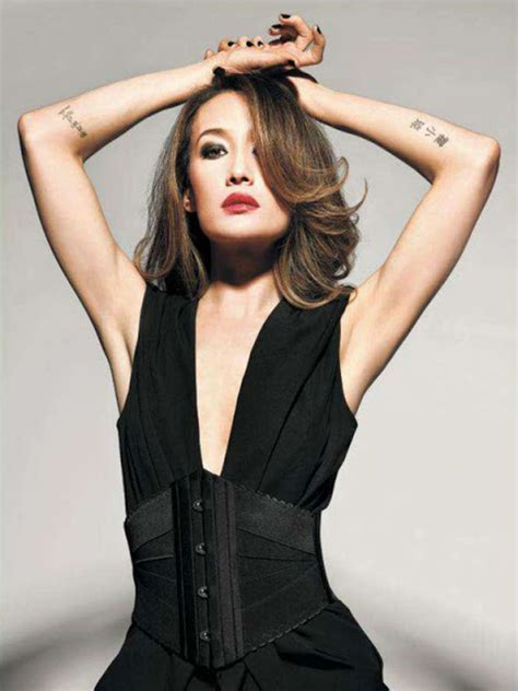 maggie q tattoo leaked maggie q baring and tattoos