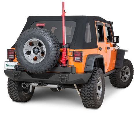 Rugged Ridge Jeep Parts by Rugged Ridge Xtreme Heavy Duty Rear Bumper System In