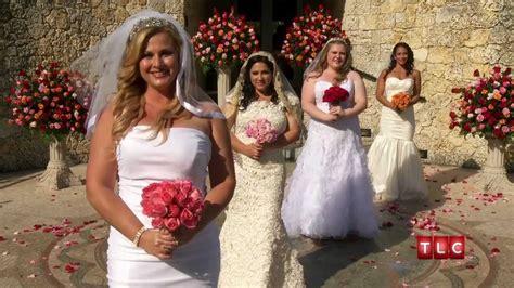 wedding shows on tlc tigers and a bad santa four weddings