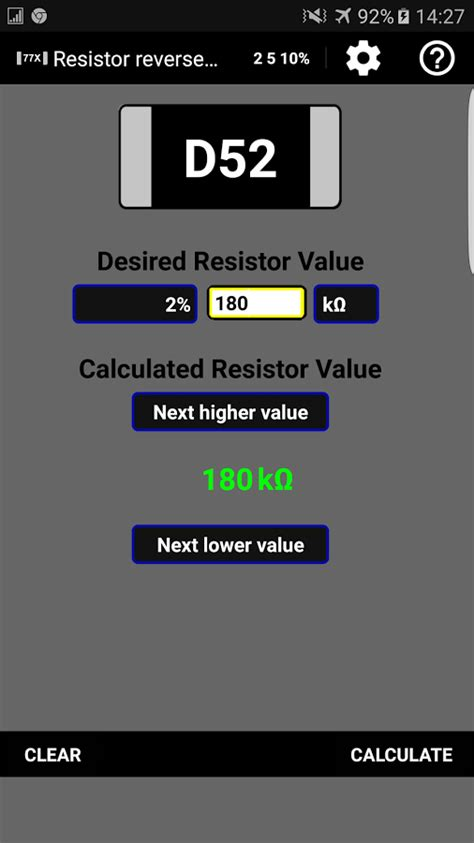 smd resistor 4 digit code resistor smd code calculator android apps on play