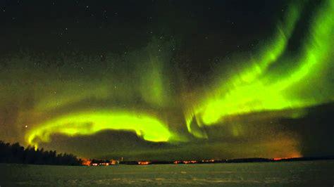 Solar Northern Lights Northern Lights 24 1 2012 Solar Yll 228 S Lapland