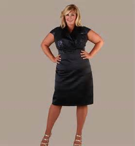 black plus size cocktail party dresses evening wear