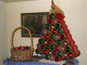 Collection of christmas and holiday recycled toilet paper tube crafts