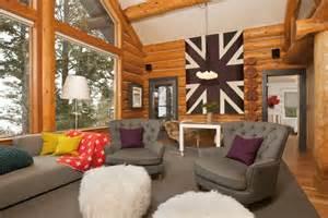 Beyond the aisle home envy log cabin interiors