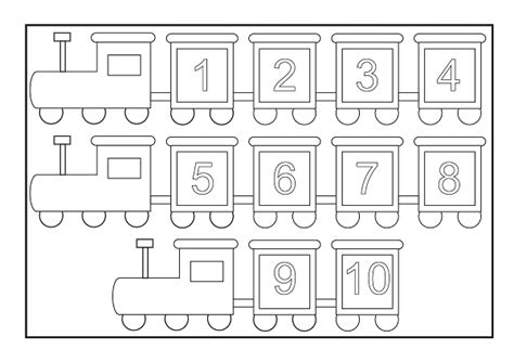 number train coloring page free coloring pages of train number