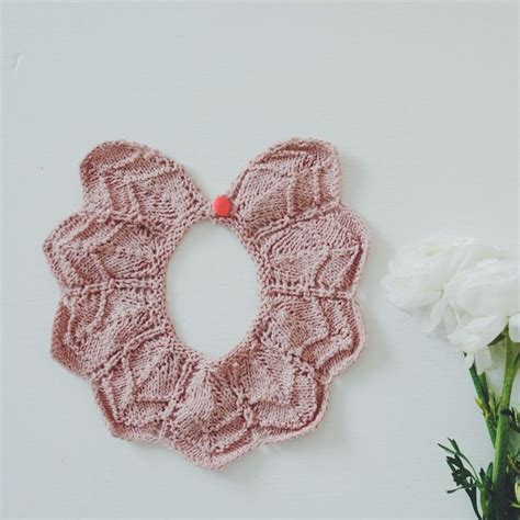 how to knit collar 1860 best knitting cross stitch images on baby
