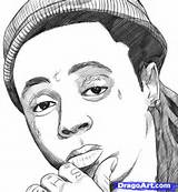 How to Draw Lil Wayne, Step by Step, Stars, People, FREE Online ...
