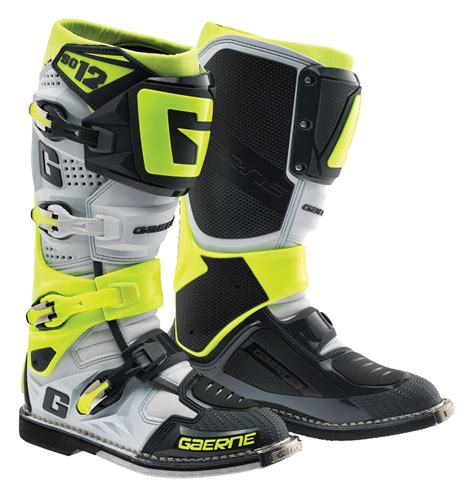 motocross boots closeout gaerne sg 12 boots revzilla