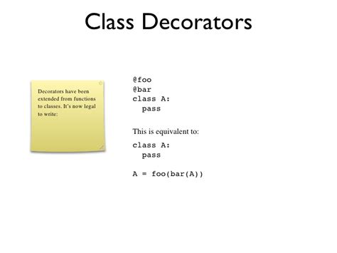 Decorators In Python by Python Decorators In Classes 28 Images What S New In