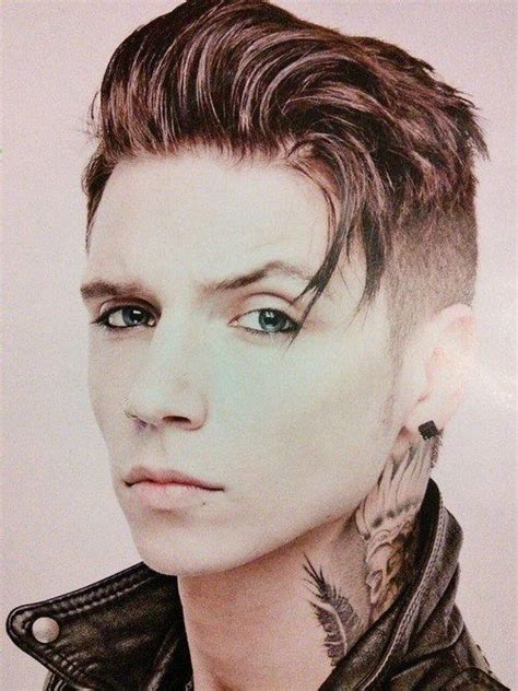 Andy Biersack Hairstyle by How Are You So Tell Us Your Secret Andy ᗷᒪᗩᑕk