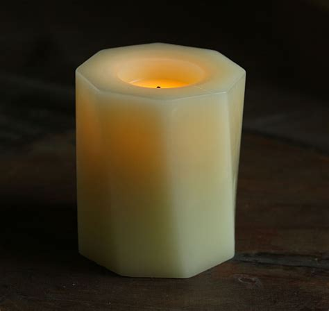 candle impressions 4 inch battery operated modern design