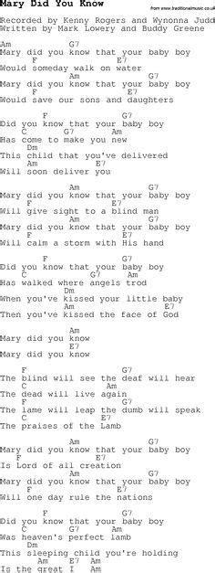 pattern baby lyrics christmas songs and carols lyrics with chords for guitar