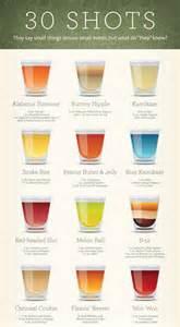 30 shots 30 recipes one infographic mandatory