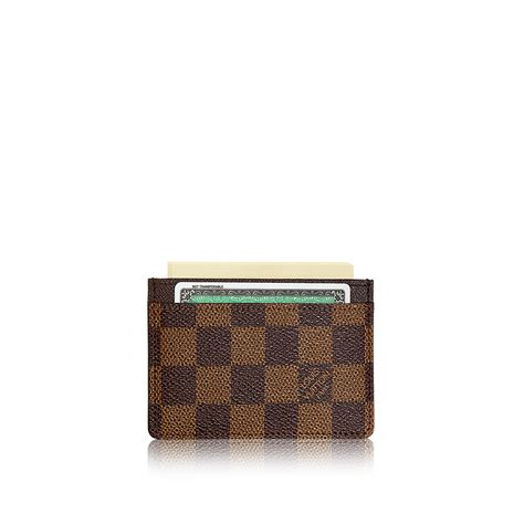 Louis Vuitton Gift Card - card holder damier ebene canvas small leather goods louis vuitton