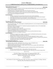 Warehouse Supervisor Resume Sle by Distribution Manager Resume Exles