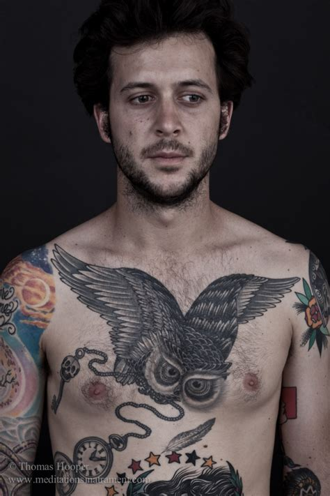 tattoo on chest cool owl tattoos on chest cool tattoos ideas