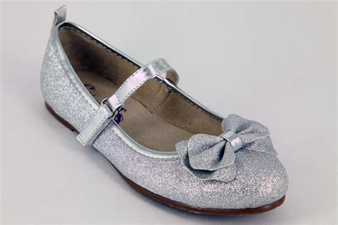 flat dress shoe silver flat dress shoes glitzerella