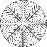 Mandala Coloriages à Imprimer Colorier - Coloriages1001.fr
