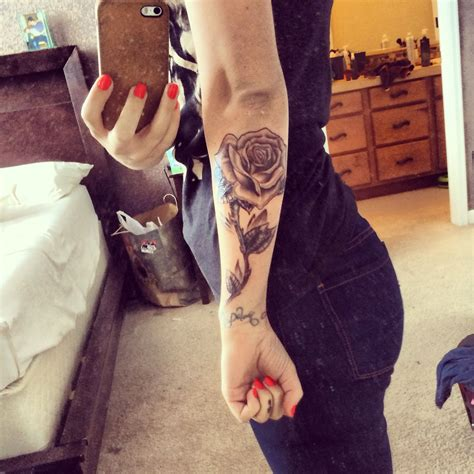 girl rose tattoo tattoos tattoos