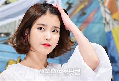 rambut pendek artis 2014 top iu short hair wallpapers