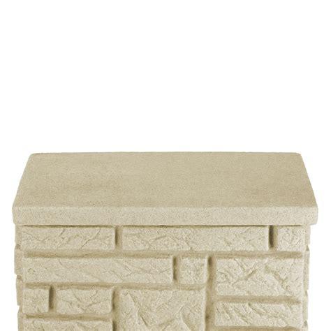 deckenle eckig regentonne eckig wandtank maurano 300 liter sandstein