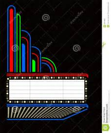 movie play marquee eps stock photography image 3017962