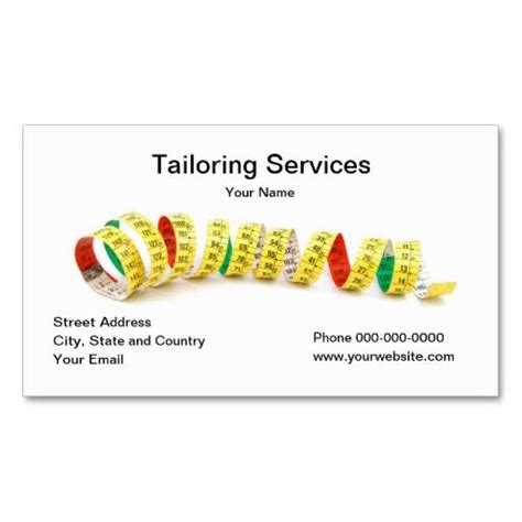 Tailoring And Alterations Business Cards Template by 195 Best Images About Tailor Business Cards On