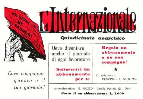 l internazionale testo italiani imbecilli l origine anarchica de l