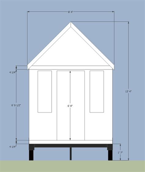 house measurements road limits for tiny houses on trailers
