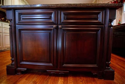 How To Remodel Old Kitchen Cabinets These Were White Mdf Kitchen Cabinets Faux Wood Grain By