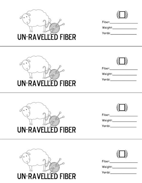printable yarn labels chicken soup designs un ravelled