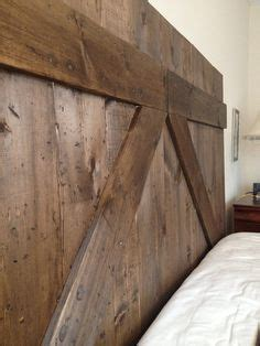 barn siding headboard rustic barn door wall on pinterest barn doors wood head
