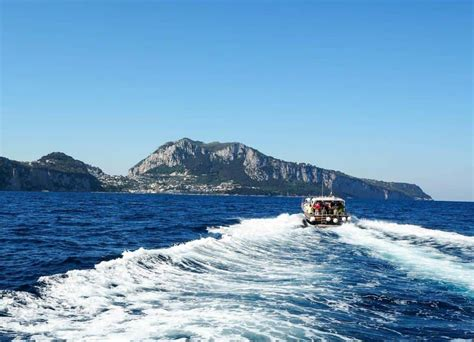 boat trip to capri capri boat tour the best way to spend a day in capri