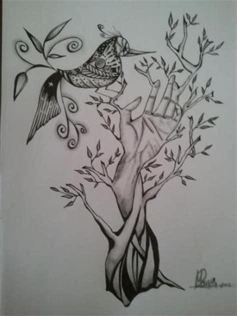 imagenes surrealistas de arboles arbol dibujo surrealista realizado con tinta y grafito