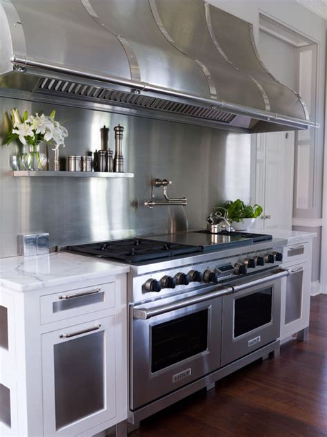 stainless steel kitchen hood design ideas