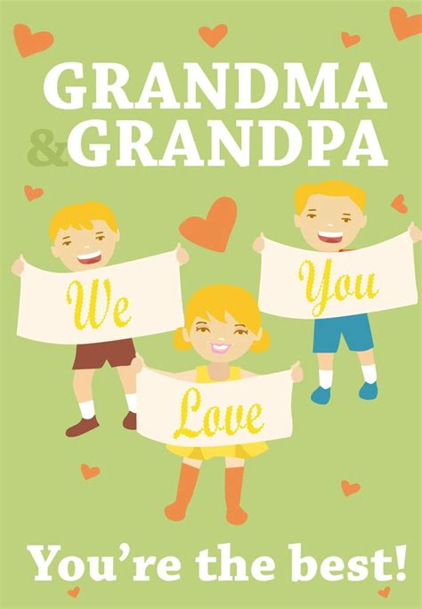 Grandparents Day Greeting Card Templates by 11 Best Grandparents Day Images On Free