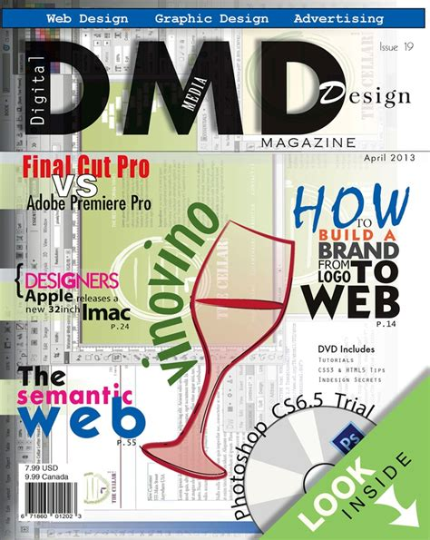 magazine cover layout pinterest dmd magazine cover design hinchcliff digital design