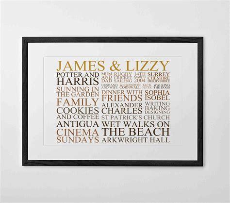 Wedding Gift Wall by Personalized Wedding Gifts Wall Www Pixshark