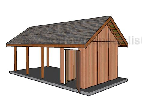 carport plans with storage single carport with storage roof plans howtospecialist