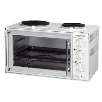essential cttc1 wh table top compact electric cooker in
