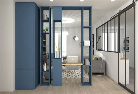 meuble de s駱aration cuisine salon meuble pour separation de 2 a vivre chambre
