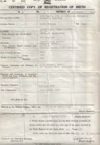 Real Birth Certificate Template by Birth Certificate Proven No Doubt Obama
