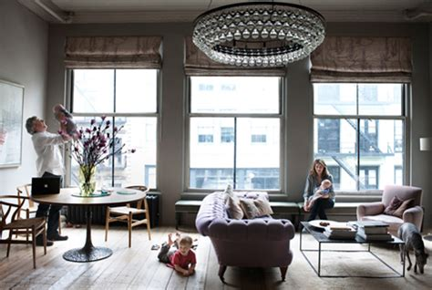 livingroom soho new york loft apartment of ochre s harriet maxwell